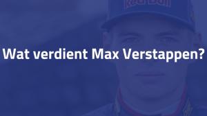 Wat verdient Max Verstappen